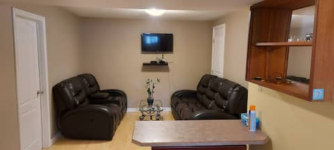Entire 2bedroom basement suite, near hospital