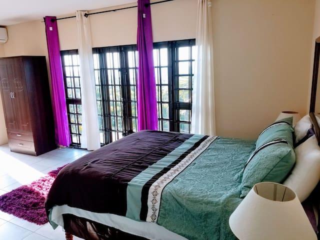 Queen Bed in bedroom!