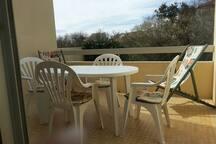 Studio avec terrasse biarritz