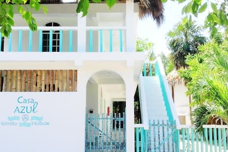 Casa Azul-Hotelito Holbox 2nd room