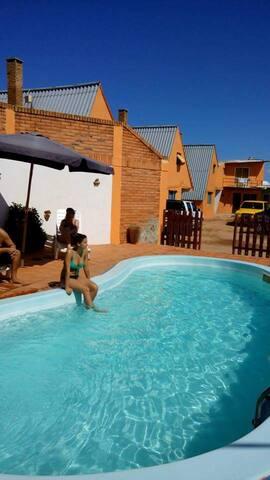 WIMPY TÚ CASA LEJOS DE TU CASA A SOLO MT. DEL MAR - Barra del Chuy - Cottage