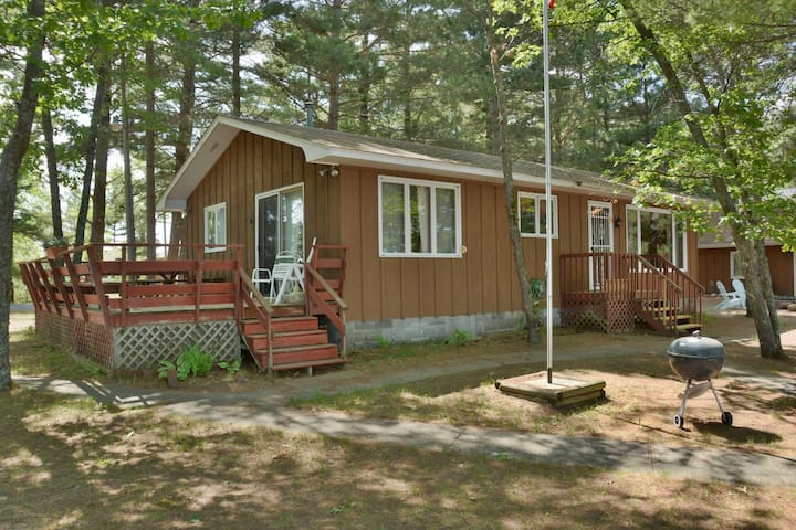 Peninsula Road Paradise ~ Upper Eau Claire Lake - Hosted by North Country Vacation Rentals