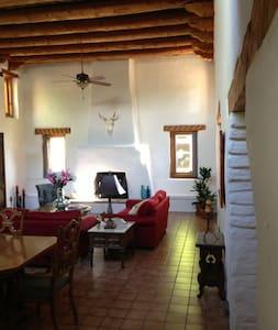 Albuquerque Adobe Hacienda on Organic Farm + Ranch - Corrales