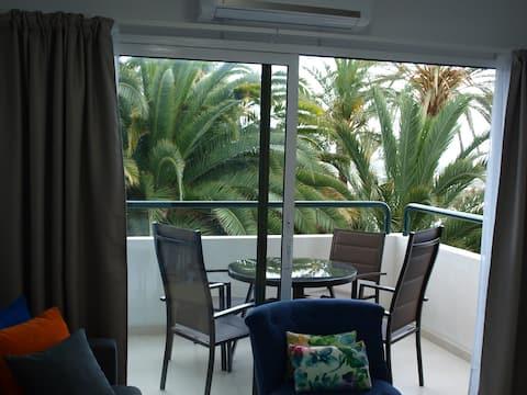 Apartamento con terraza, un dormitorio. Maspalomas