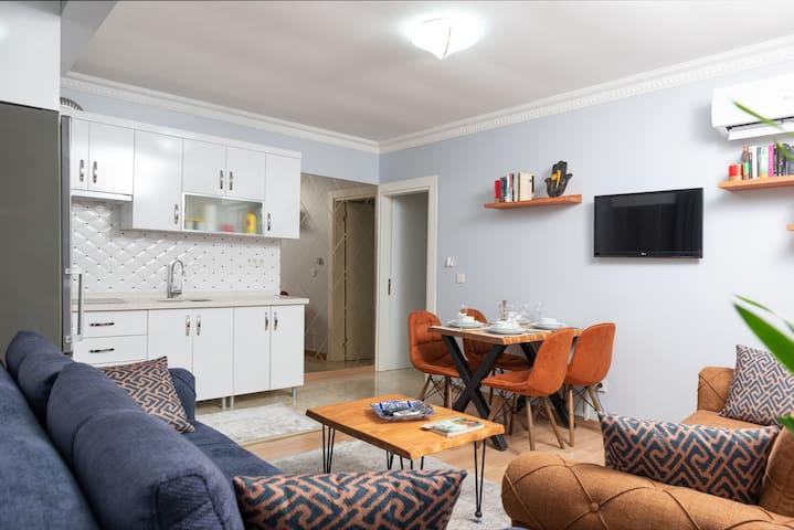 deniz palace apartment 4 pax