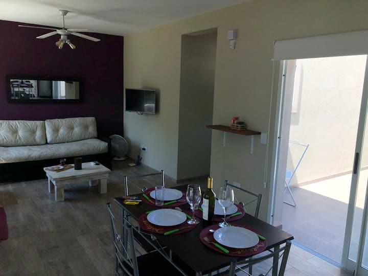Casa N°2 Nueva en PA para 4 pers. a 400 mts playa