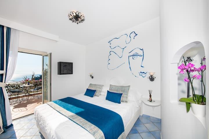 ArtHotel Pasitea Positano Seaview Room