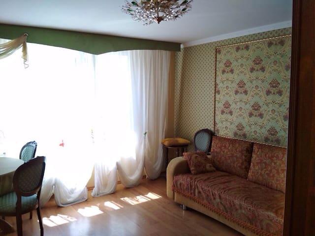 Квартира с прекрасным видом из окна