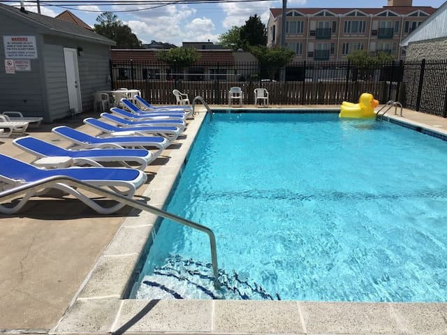 Great Views, 4 Bedroom, Oceanblock House w/ Pool! - Dewey Beach
