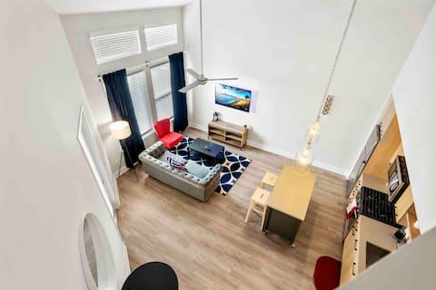 Superb 2 Bedroom Loft Made For You!!