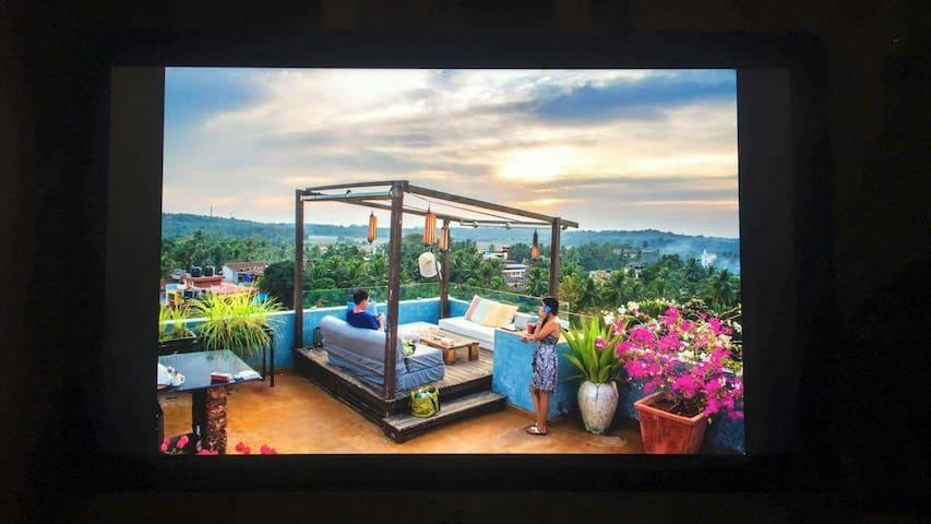 Luxurious Palolem Penthouse. - Canacona, Goa, IN - Pis