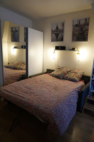 Small and cosy Parisian studio, near 3 metro lines - Paris - Apartemen
