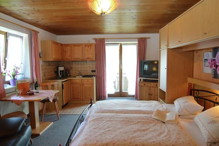 Mountain-view Apartment in Bad Bayersoien for Couples