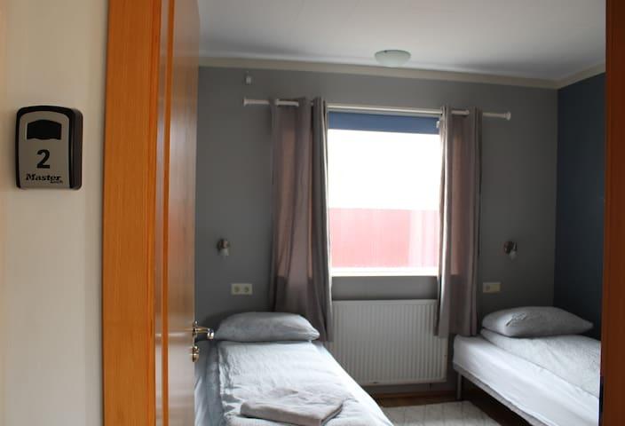 Stóri-Bakki Guesthouse by Egilsstaðir twin room