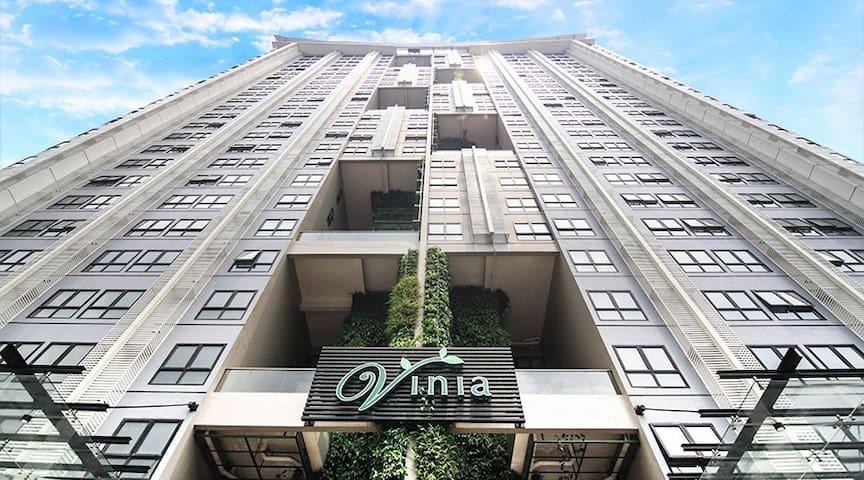 Studio Infinity Pool  Vinia Residences QC Trinoma