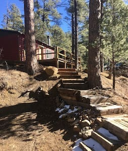 New wave B & B Cabin! - Ruidoso - Dom