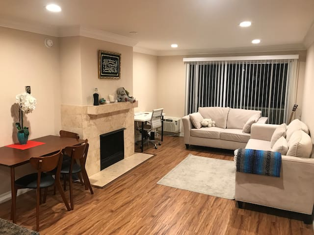 Brentwood Adjacent 1bd + 1 bth Full Amenities!