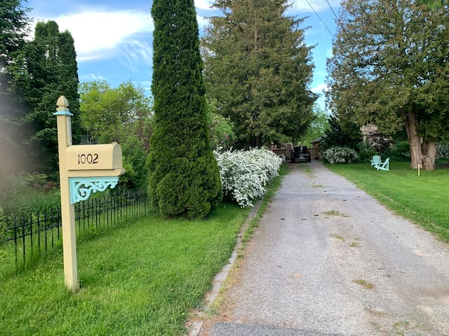 218-yr-old Cobourg Cottage w/a View - 8ppl & Pets