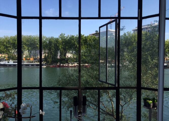 Breath taking view in front of Fondation Cartier - Issy-les-Moulineaux - Loft