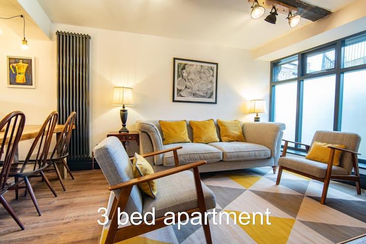 Heart of Macclesfield 3 Bedroom Grade II Apartment