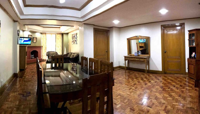 Cozy,Spacious, 2BR, 3T&B Condo, 24/7 Security,WiFi