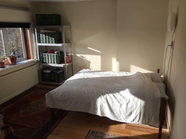 Bright room in spacious 1930's apartment