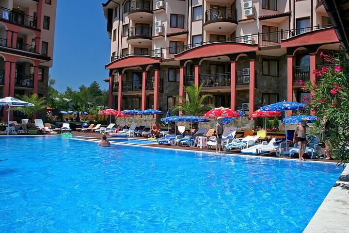Апартаменты на море, Царево, Болгария. - Tsarevo - Serviced apartment