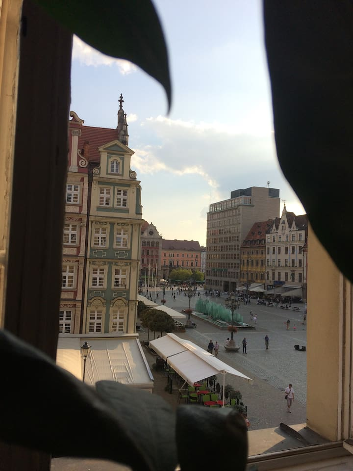 View to Rynek (Old Town)