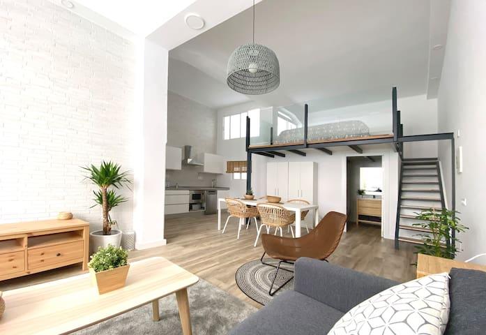 Moderno Loft a doble altura cercano a Las Canteras