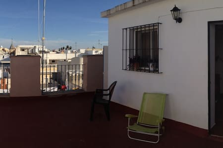 ROOM WITH A VIEW ON ROOF. - Sevilla