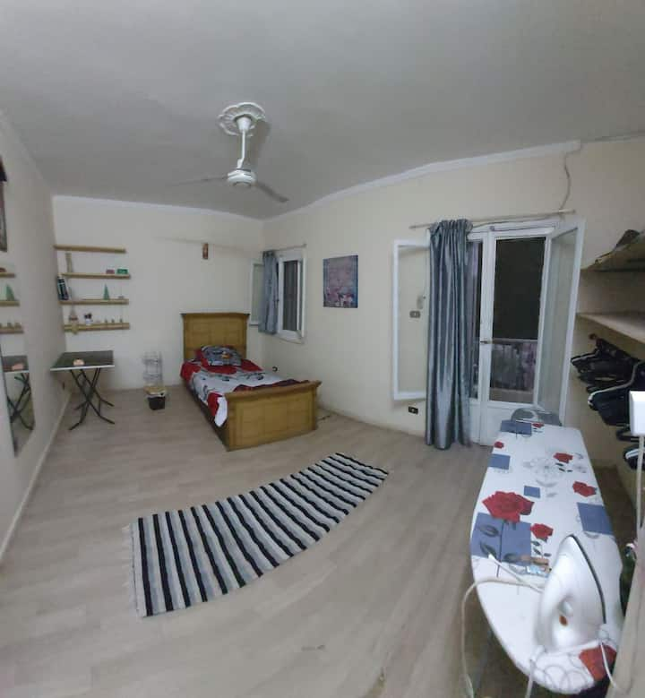 room in central location in Cairo.