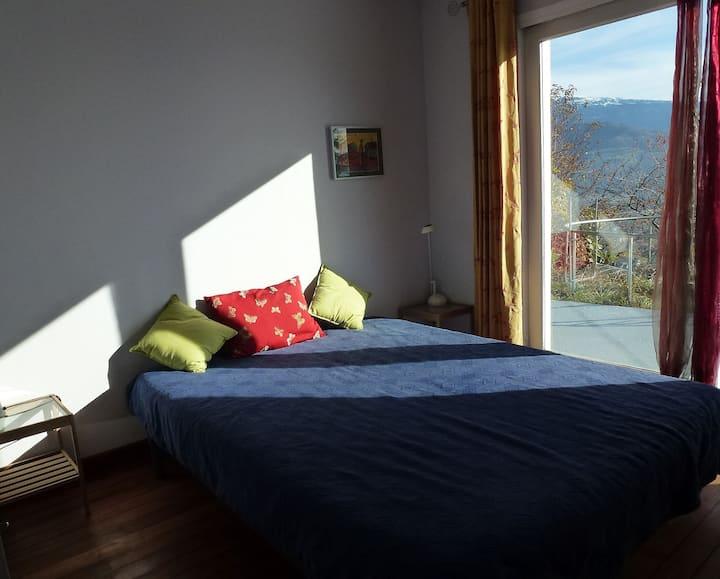 Appartement dans les hauts de Corenc avec vue