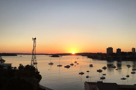 Potts Point Sanctuary with stunning habour views - Potts Point - Apartment