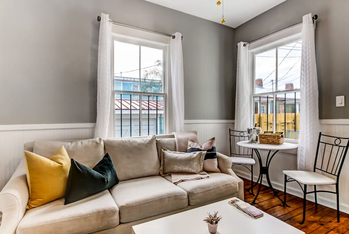 Freshly Renovated 1871 Downtown Historic Duplex