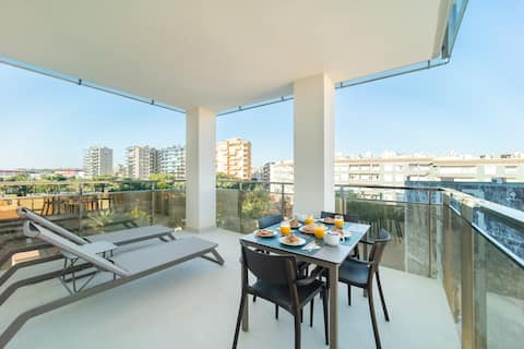 Superior Apartment 2 Bedrooms ParkViews +Terrace