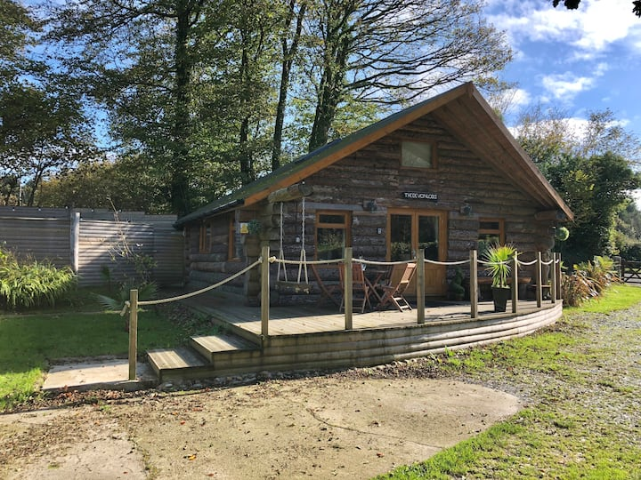 The Devon Lodge Log Cabin