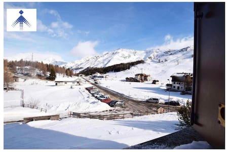 casa in montagna direttamente sulle piste da sci