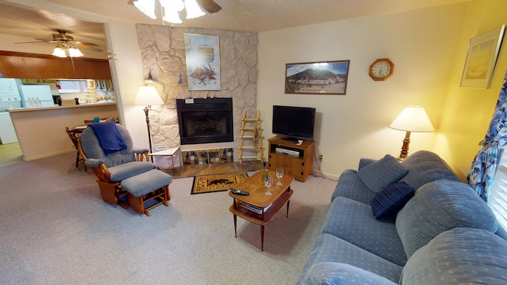 Valley Condo 125 - High-Speed Fiber Optic - Gas Fireplace - Washer/Dryer - Hot Tub