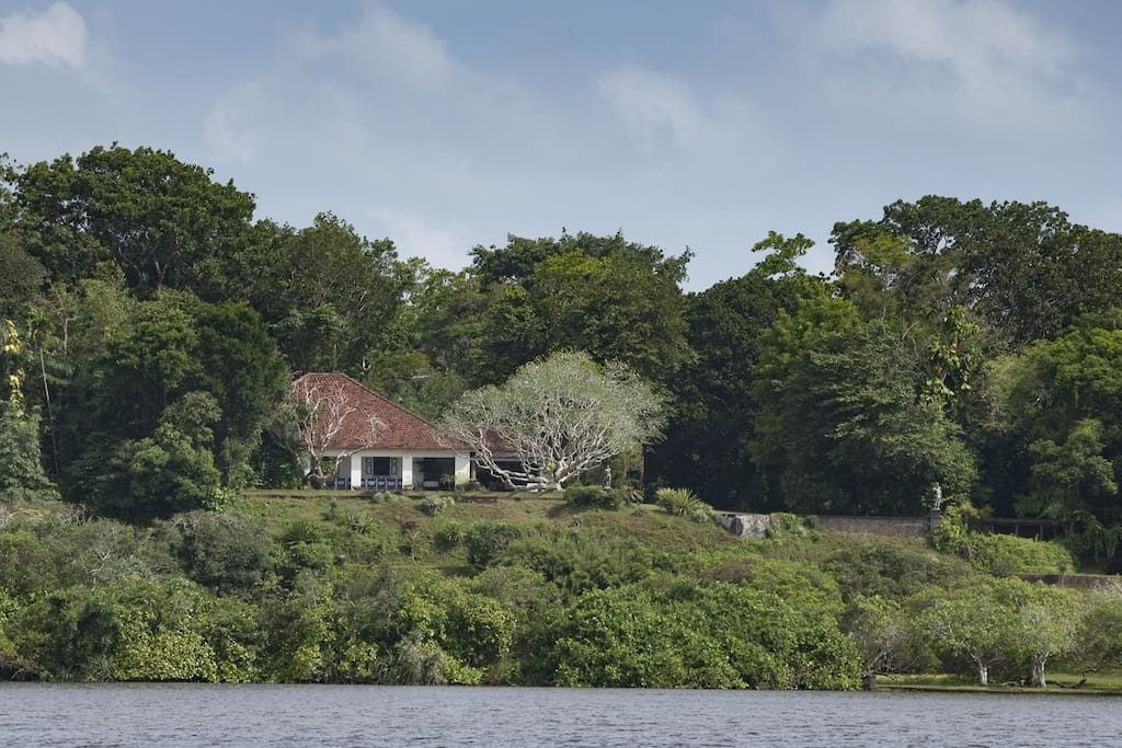 Lake view of the Main House