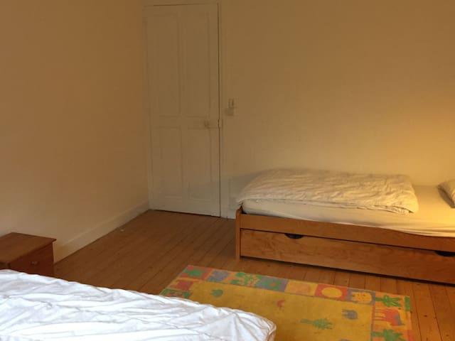 Chambre lits jumeaux 1er étage