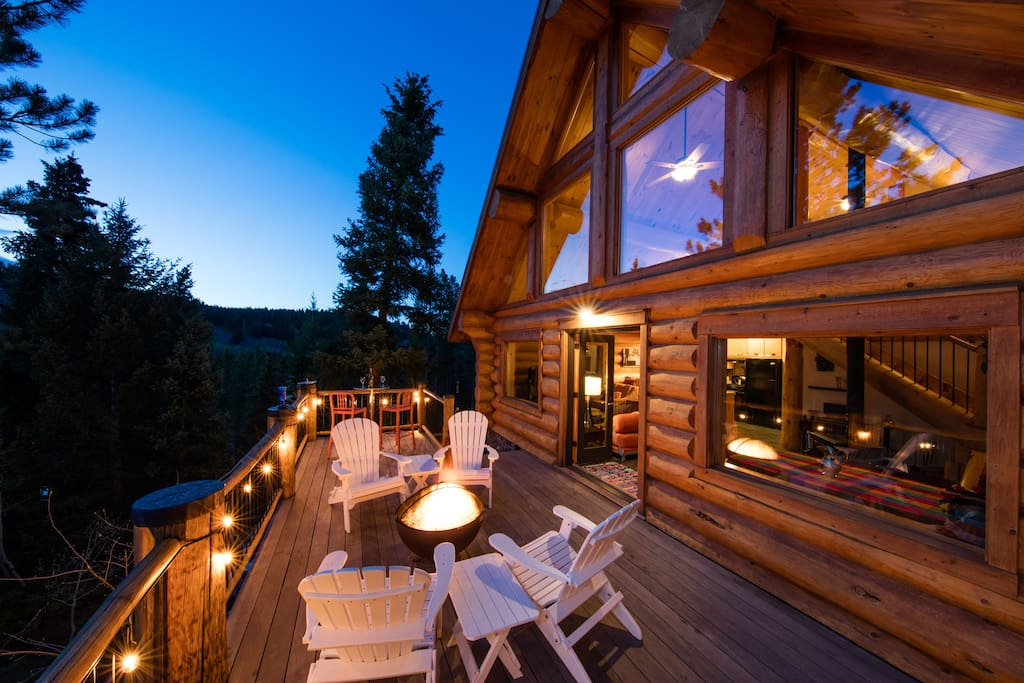 Log cabin w hot tub bbq fire pit on the river for Airbnb cabins california