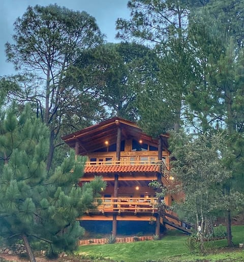 un merecido descanso en Mazamitla cabaña Yaretzi
