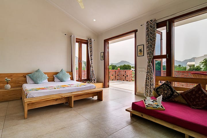 Family homestay in Udaipur