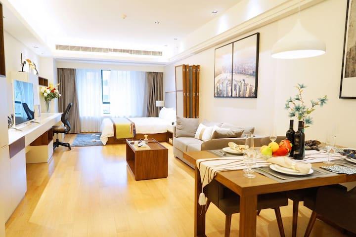 打浦桥田子坊附近金巢铂瑞阁寓居酒店式服务公寓