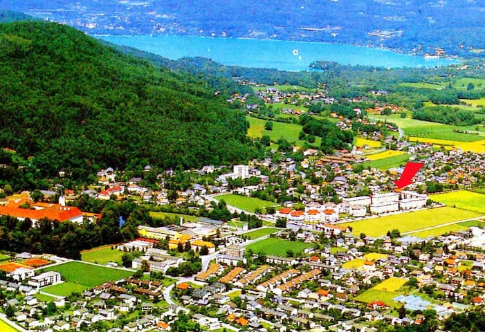 Close to Lake Wörthersee, 10 minutes to center