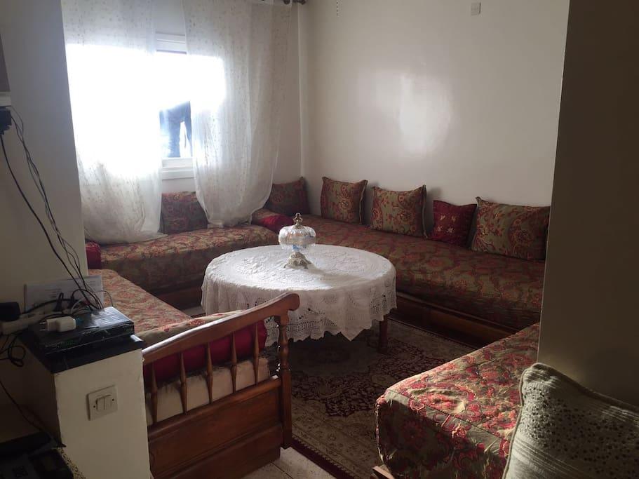 Salon Marocain traditionnelle 2