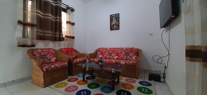 Appartement Cosy 2 Chambres Terminus Bonamoussadi