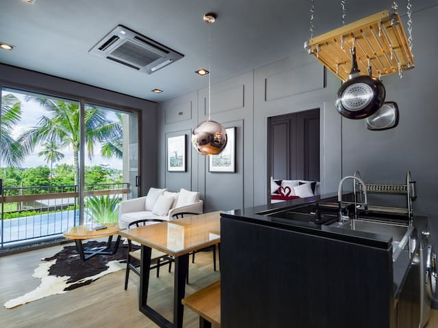2 BDR Complex Pool Access Apartment in Rawai