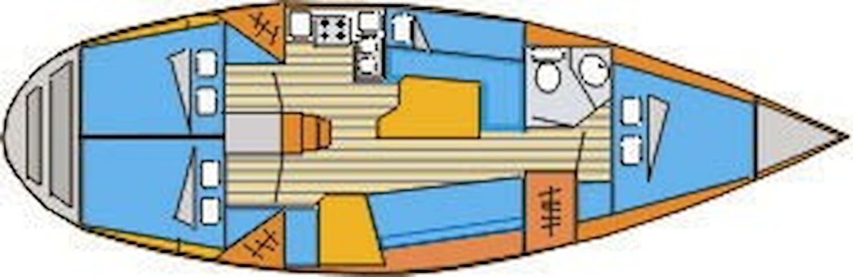 "Sailing Boat   ""IASON""  (JASON) - Vourkari - Vene"