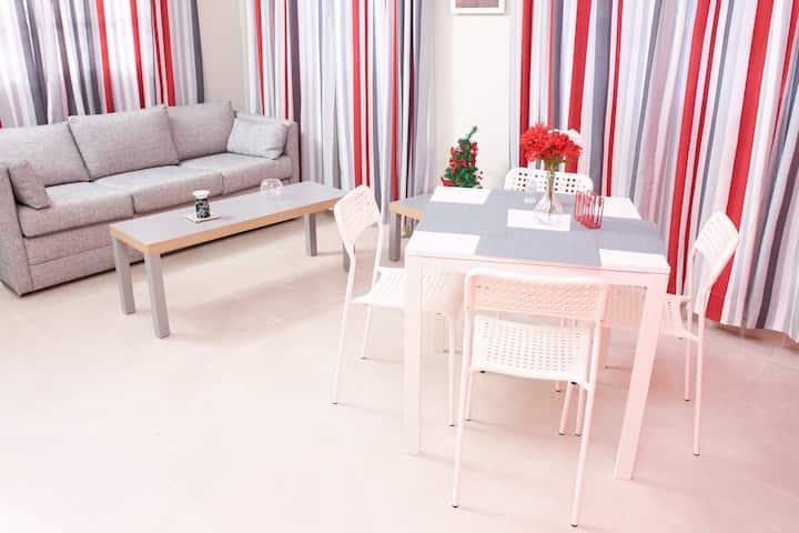 Confortable apartamento cerca de la playa